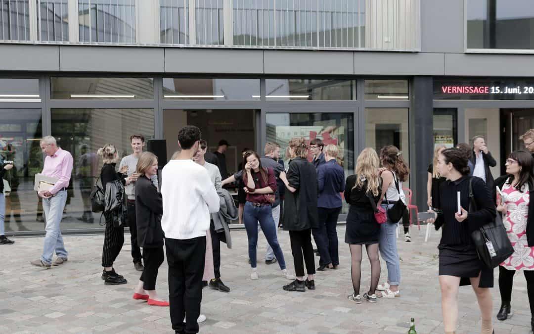 Eröffnung der feldfünf — Projekträume im Metropolenhaus, Jun 15, 2018