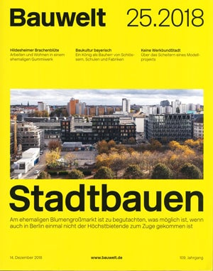 Bauwelt — Metropolenhaus