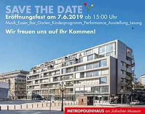SAVE THE DATE: Eröffnungsfest