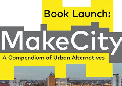 Veranstaltung: MAKE CITY Book Launch am 16.05.2019