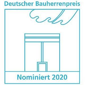 Nominierung Deutscher Bauherrenpreis 2020