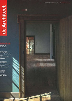 """de Architect 09/2019 — Claus Käpplinger über """"unser Verständnis der Rolle von Architekten"""""""