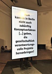 """Gespräch """"Boden und Gemeinschaft"""" DAZ Berlin"""