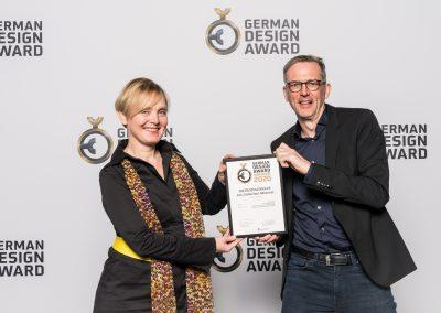 Preisverleihung German Design Award 2020