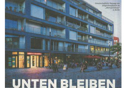 """DIE WELT: """"Unten bleiben"""" – Michael Fabricius über Erdgeschossnutzungen in Krisenzeiten"""