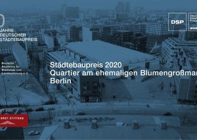 Kreativ-Quartier gewinnt Deutschen Städtebaupreis 2020
